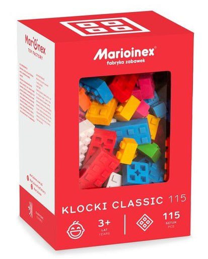 Obrázek Marioinex KOSTKY CLASSIC 115 ks