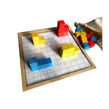 Obrázek Krychličky barevná sada pro žáka