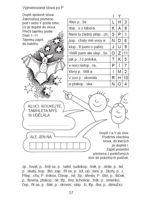 Obrázek Zábavný pravopis