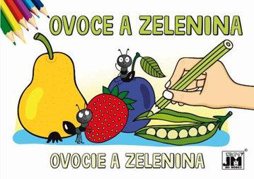 Obrázek Ovoce a Zelenina - Omalovánky A5 Nelicenční