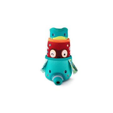 Obrázek Lilliputiens - 3 kelímky z džungle - hračka do vody