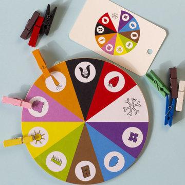 Obrázek Kolíčky a deset barev